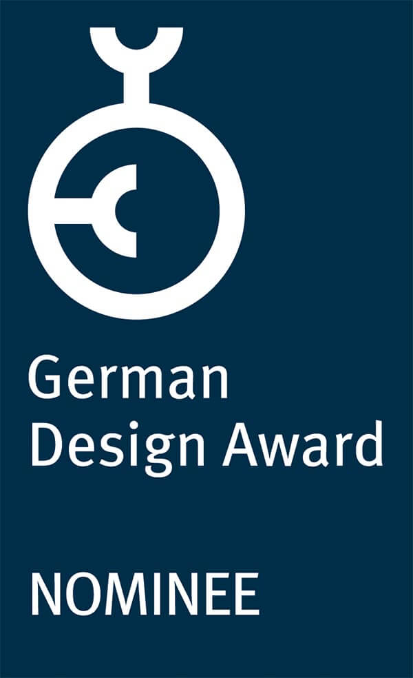 Plakette German Design Award Nominee